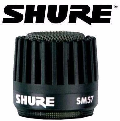Shure Globo Grille Para Microfone Sm57 Rk244G