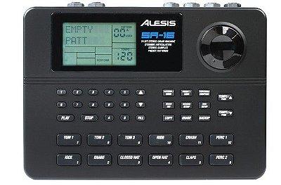 Bateria Eletronica 16 Bits Alesis Sr-16