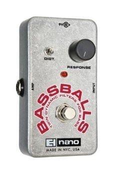 Pedal Para Baixo Electro-harmonix Nano Bass Balls Twin