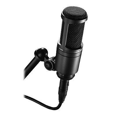 Audio Technica At2020 Microfone Pro Condensador Cardioide