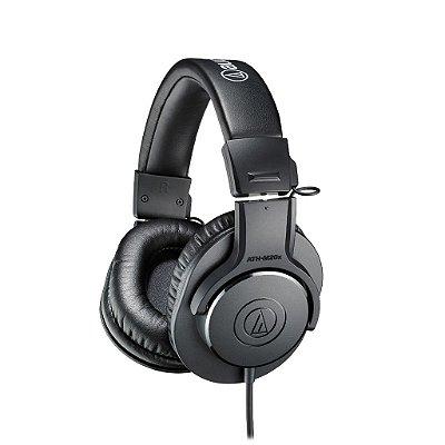 Audio Technica Ath-m20x Headphone Fone De Ouvido