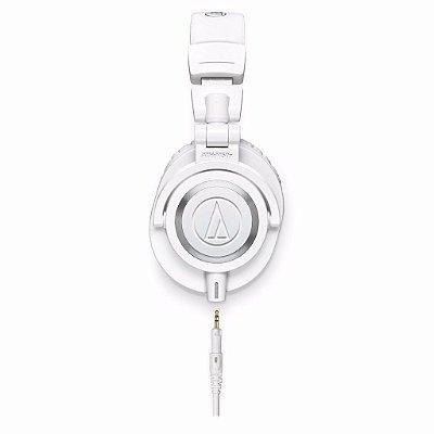 Audio Technica Ath-m50xwh Fone De Ouvido Profissional Branco