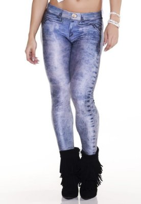 LEGGING FAKE JEANS 2508 LIPSOUL GIRLS