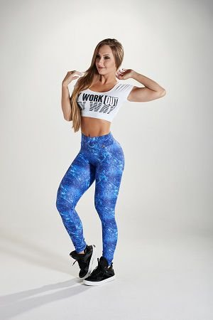 LEGGING SUPLEX ESTAMPADA LET'S GYM