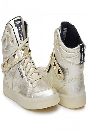 SNEAKER HARD FIT DOURADO MVP FITNESS