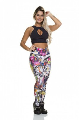 LEGGING FUSEAU DIGITAL MODEL DUNAS BODY POWER