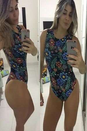 BODY BOCA ESTAMPADO FLOWER BRO FITWEAR