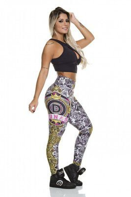 Legging Digital Gothic Dunas Bodypower