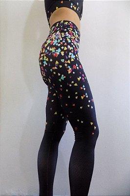 Calça Legging Trilobal Colors Bro Fitwear