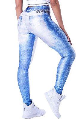 Legging Lovely Fake Jeans Lipsoul Girls
