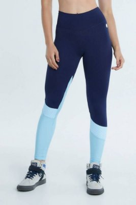 Legging Safira Azul Bro Fitwear