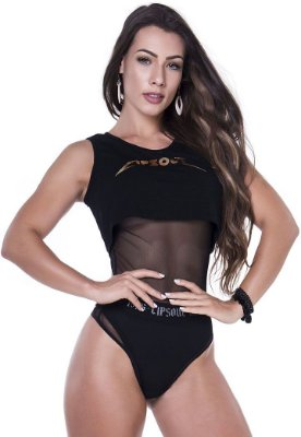 Body Cropped Black Angel Lipsoul Girls