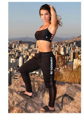Calça Jogger Be Yourself Let's Gym