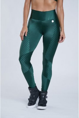 Legging Fashion Verde Bro Fitwear