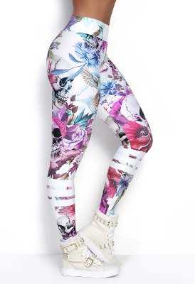 LEGGING ELASTIC COLOR ROCK CODE