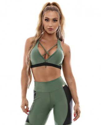 TOP SPORT VERDE AGAVE LET´S GYM