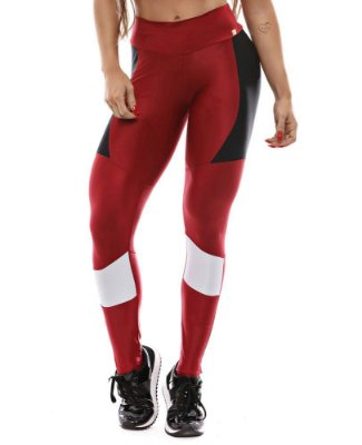 LEGGING SPORT VERMELHA LET'S GYM