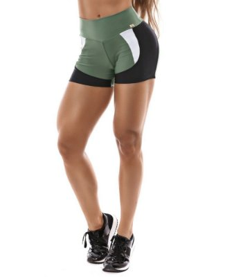 HOT PANT SPORT VERDE AGAVE LET'S GYM