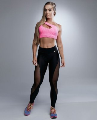 LEGGING ATLANTA PINK LET'S GYM