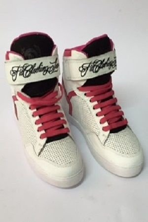 SNEAKER ELITE BRANCO E ROSA FIT CLOTHING LINE