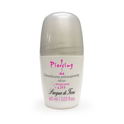 Piercing Ela Desodorante Antitranspirante Roll-on 60ml