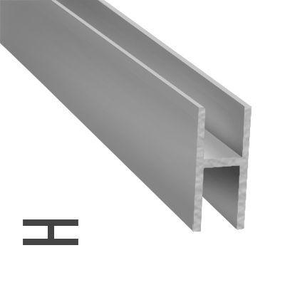 Perfil H 12 x 12 mm