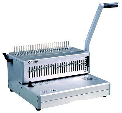 CB360 - Perfuradora manual compacta garras para encadernação
