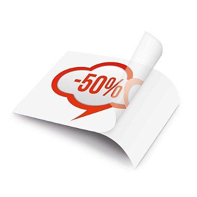 Impressão de vinil adesivo transparente de uso geral