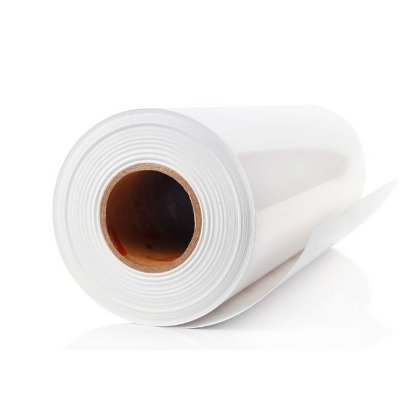 Vinil adesivo promocional transparente para impressão dye rolo com 20 metros