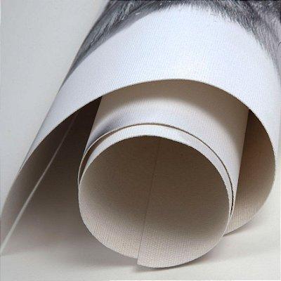 Tecido canvas para impressão dye e pigmentada rolo com 20 metros