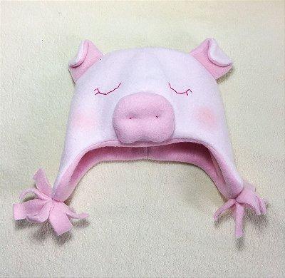 Gorro Porquinha Rosa