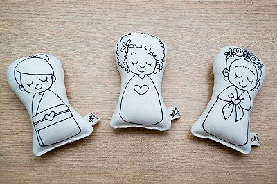 Bonecas Amigas do Coração P