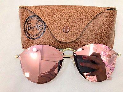 Óculos de Sol Blaze Round  Ray Ban 3574