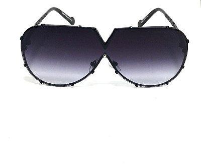 Óculos  de Sol Louis Vuitton Drive Evidence  Luxo -  Preto Degrade