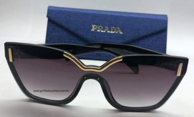 Prada Gatinho 0PR 16T 1AB-5S0 - Óculos de Sol - Tamanho 48