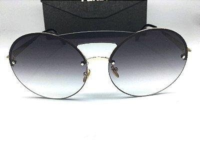 Prada Preto - PR65TS- Óculos de Sol Unissex