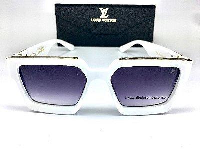 Óculos de Louis Vuitton Millionaires 96006 Anitta/ Branco