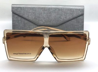 Óculos de Sol Retro - Yves  Saint Laurent SL 183 BETTY S Vintage/ Grande  Transparente
