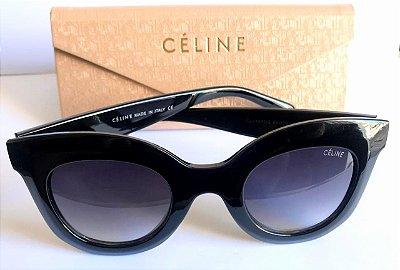 Óculos Preto  Céline Marta CL 41093/S Gatinho