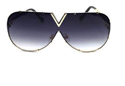 Oculos de Sol  Louis Vuitton LV  Drive Evidence  -   Lente  Preto Degrade