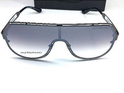 Óculos de Sol Dolce Gabbana Preto  DG2231  Aviador - Modelo Masculino e Feminino