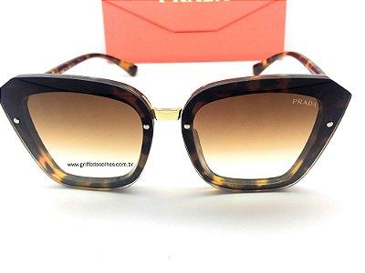 Óculos de Sol Prada Feminino - Armação Tartaruga