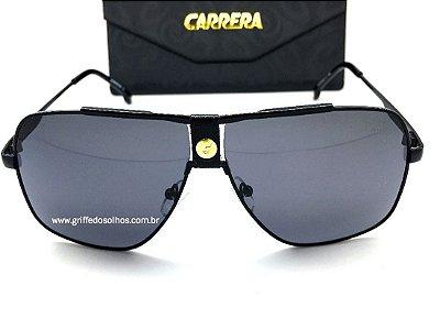 Carrera 1018  Quadrado / Preto Degradê Oculos de Sol Armação Preta