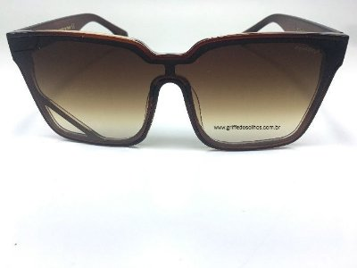 Óculos Chanel Feminino Vintage Marrom