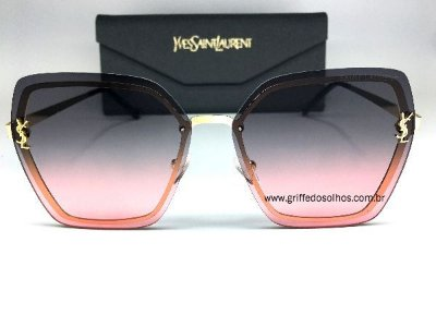 Oculos de Sol  Saint Laurent - Metal Luxury Degrade