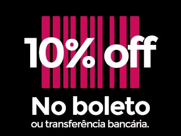 10% Off Boleto