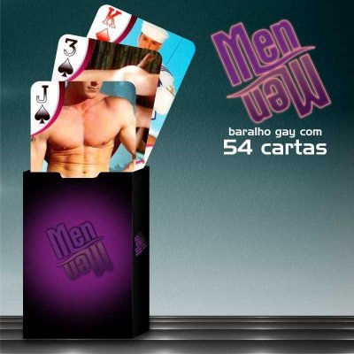 Baralho Sensual Chic Men Men