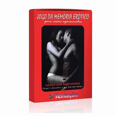 Jogo da Memória Erótico Tentação Para Casais