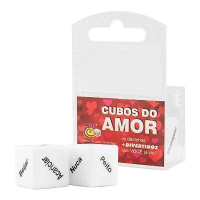 Dados do Amor Unissex Duplo Diversão ao Cubo