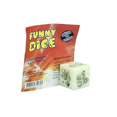 Dado Funny Dice Hétero Simples Saquinho Diversão ao Cubo